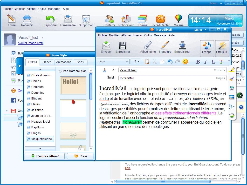 8.1 POUR FRANCAIS WINDOWS EN TÉLÉCHARGER INCREDIMAIL 2.5