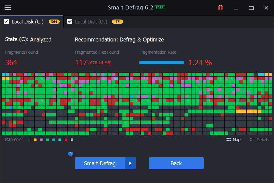 Tải Smart Defrag 6.6.0.66 tiếng việt – Vessoft
