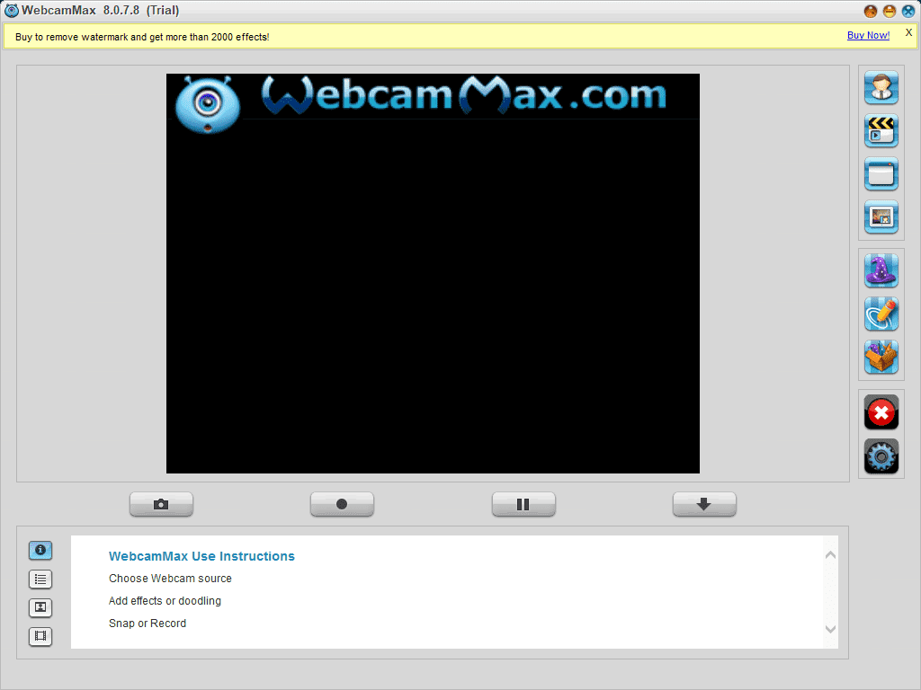 WEBCAMMAX 7 TÉLÉCHARGER WINDOWS GRATUIT POUR